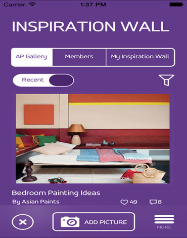 Inspiration Wall Android APP